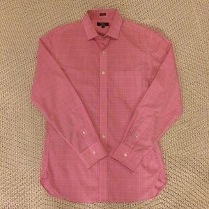 J. Crew Men's Wrinkle Free Button Down Dress Shirt